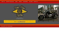 Screenshot Website www.bosshoss-me.com