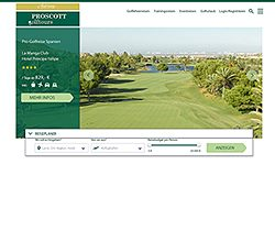 Screenshot Website www.proscott.de